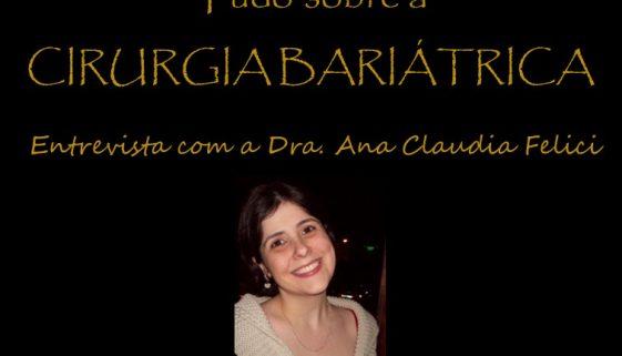 2017 - chamada entrevista ana BARIATRICA