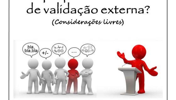 chamada validacao externa