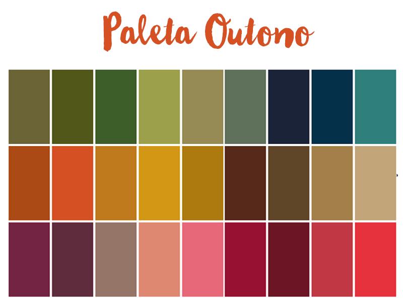 paleta outono