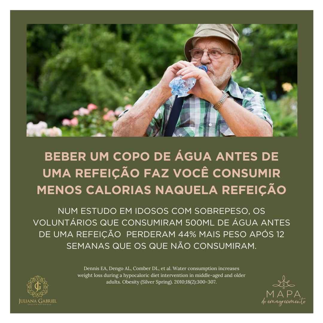A importância da água para o emagrecimento e a saúde!