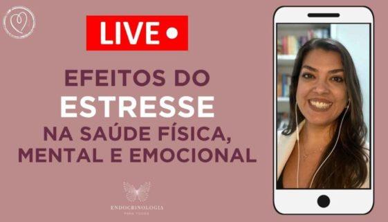 2021 - YouTube Capas - live estresse