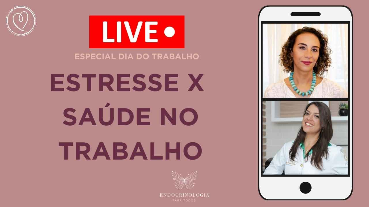 2021 - YouTube Capas - live estresse traalho luiza